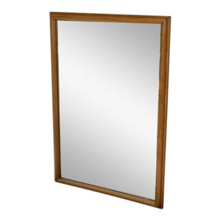 Conant Ball Solid Maple Wall Mirror For Sale