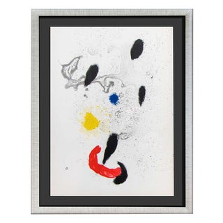 1963 Joan Miro Original Lithograph Print For Sale