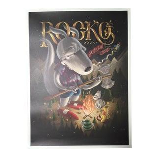 "Dan Christofferson ""Rocko's Modern Life"" Tribute Nickelodeon Poster"