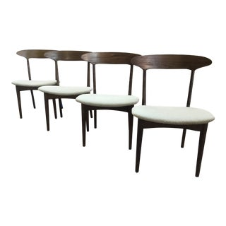 Mid Century Modern Kurt Ostervig Dining Chairs - Set of 4 For Sale