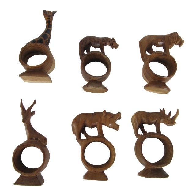 Safari Animal Napkin Rings
