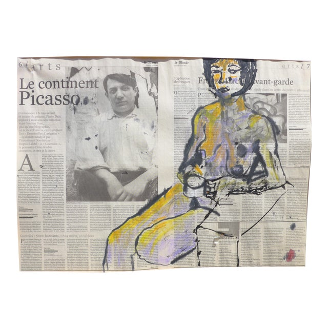 'Picasso & His Model' Drawing - Image 1 of 9