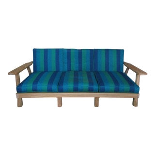 1960s Vintage A. Brandt Ranch Oak Sofa For Sale