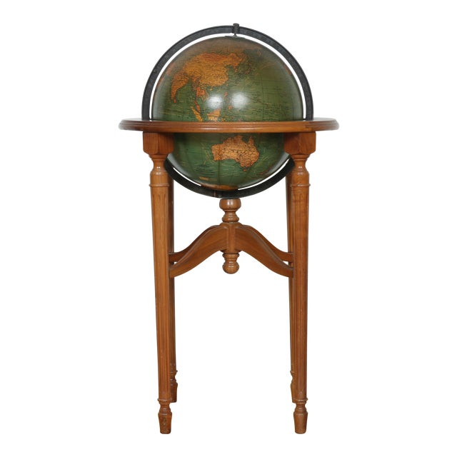 1940's Globe and Stand - Image 1 of 7