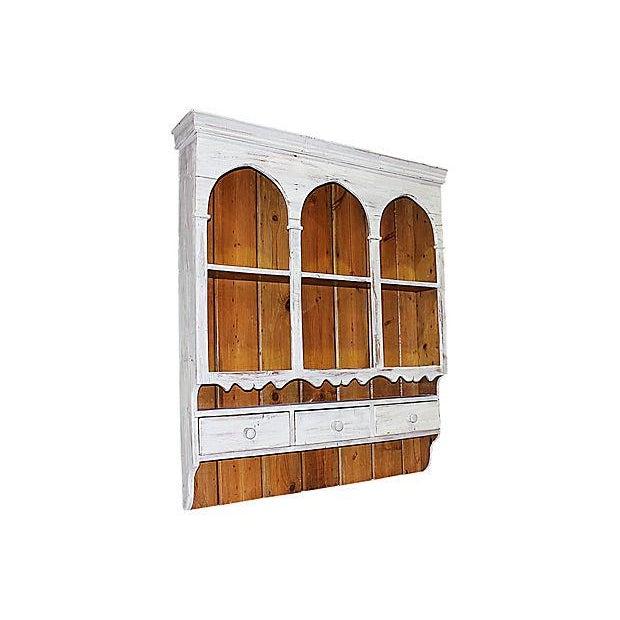 edwardian hanging cabinet china hutch mahogany of display inlaid