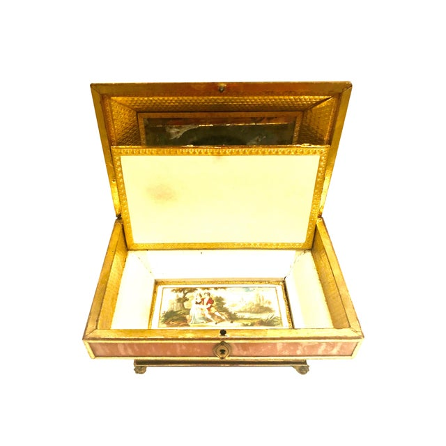 Early 19th Century Neoclassical Style Work Box For Sale - Image 4 of 9