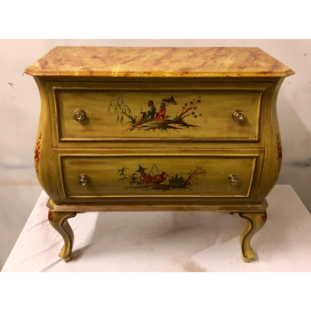 Italian Chinoiserie Chest of Drawers For Sale - Image 5 of 5