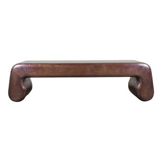 Bench w/ Pong Legs - Antique Copper