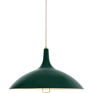 Paavo Tynell '1965' Pendant Lamp in Green