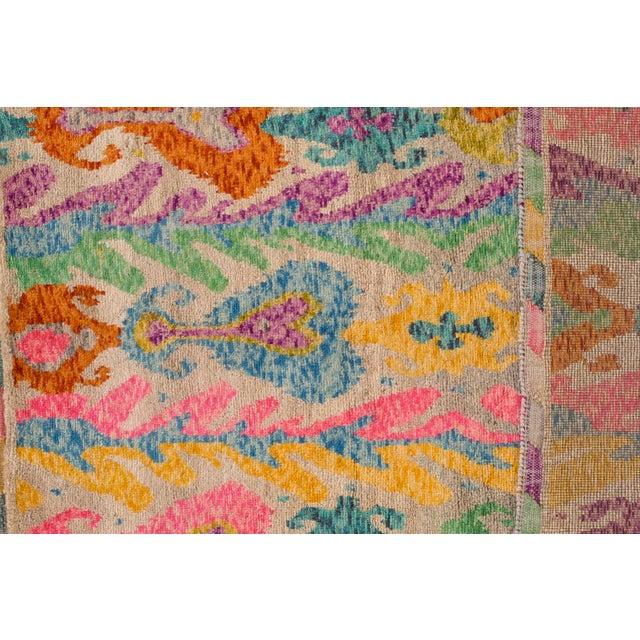 "Afghan Apadana - Modern Afghan Gabbeh Rug, 3'5"" x 4'10"" For Sale - Image 3 of 6"