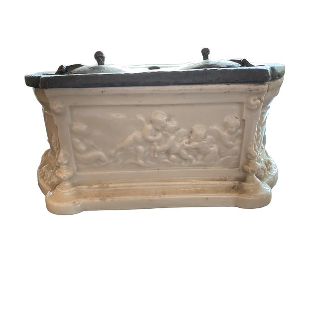 French Antique 18th Century Inkwell For Sale - Image 3 of 12