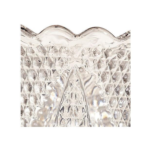Diamond-Point Designed Glass Celery - Image 3 of 3