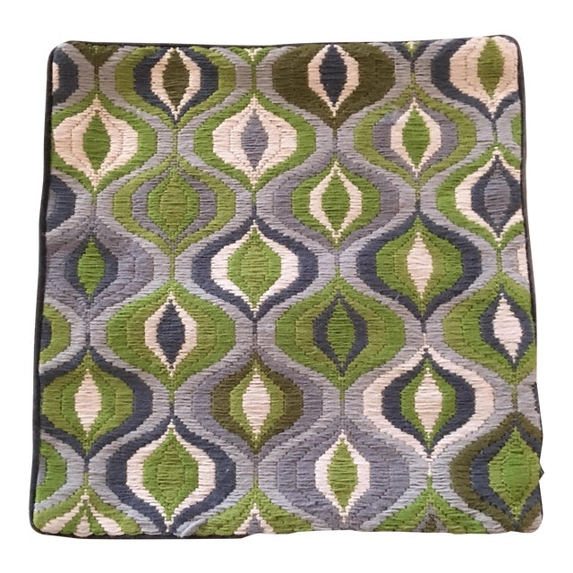 "Jonathan Adler ""Bargello Wave"" Pillow Cover - Image 1 of 3"