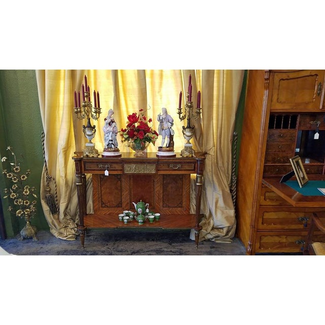 Fruitwood 19c French Breakfast Console Buffet For Sale - Image 7 of 13
