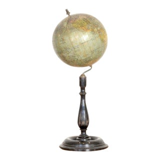 Early 20th C. German Antique Globe For Sale