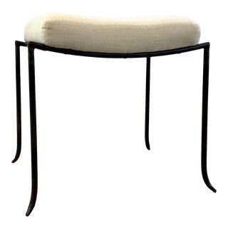 Arteriors Industrial Modern Mosquito Bench For Sale