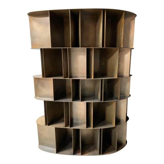Existence Metal Bookcase by DeCastelli For Sale