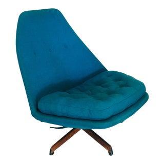 Mid Century Modern Madsen & Schubell Danish Lounge Chair Eames Era Artifort For Sale