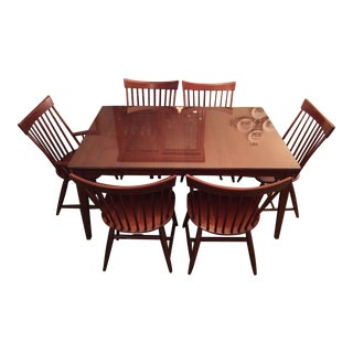 Kincaid Cherry Park Dining Set For Sale