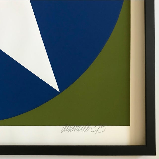 1975 Chris Smith Framed Silkscreen Set of 10 For Sale - Image 9 of 12