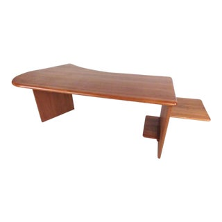 Scandinavian Modern Danish Teak Desk