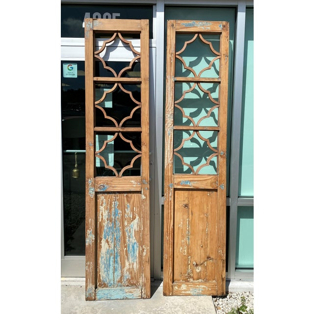 Vintage French Country Doors - a Pair For Sale - Image 10 of 10