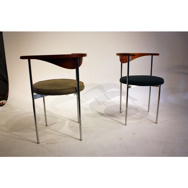 Frederick Sieck for Fritz Hansen El-Bow Chairs - Image 2 of 5