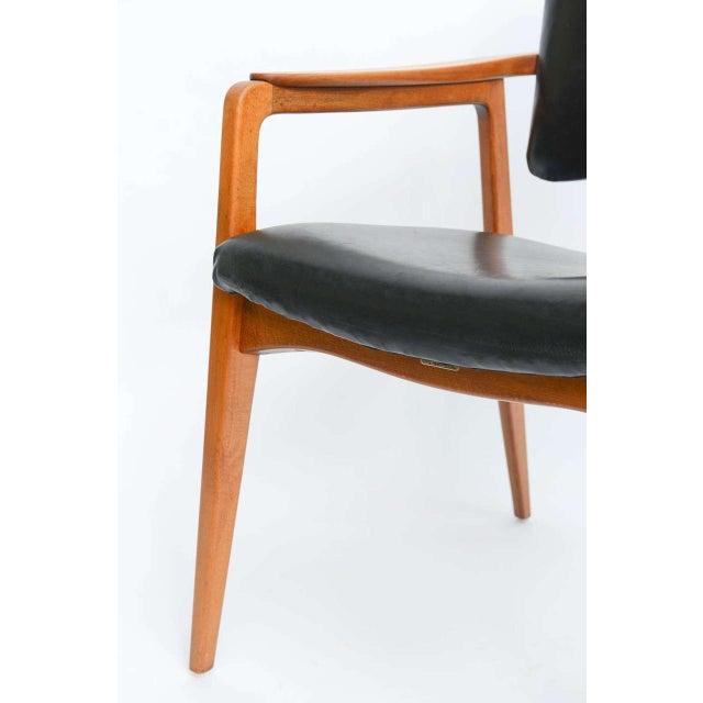 Sigvard Bernadotte for France & Daverkosen Danish Modern Teak Lounge Armchair - Image 7 of 11