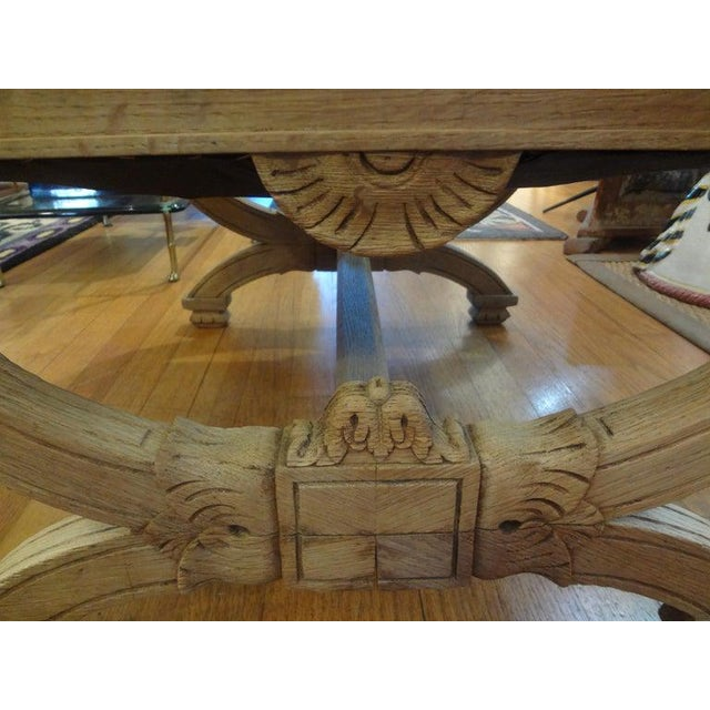 19th Century French Louis XVI Style Bench or Ottoman For Sale In Houston - Image 6 of 11
