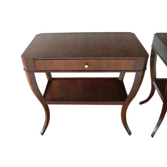 Brown Niermann Weeks Saint Cloud Tables - a Pair For Sale - Image 8 of 12