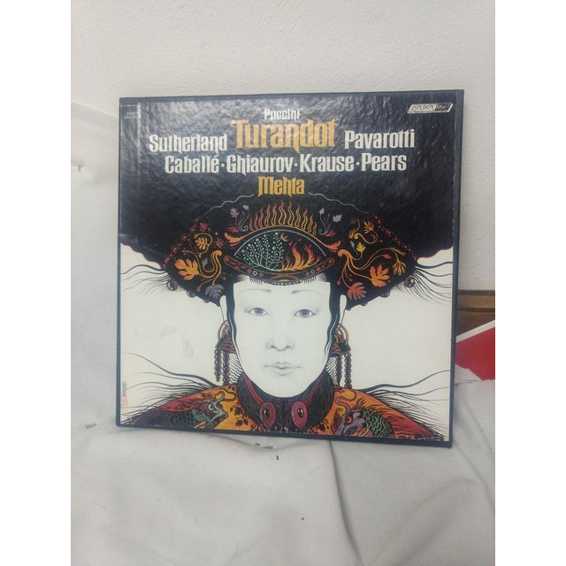 "Paper 1st Edition : ""Puccini Turandot Opera Boxed Set - 8 Pc. For Sale - Image 7 of 7"