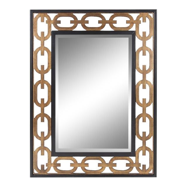 Kenneth Ludwig Chicago Linc Rectangle Mirror For Sale