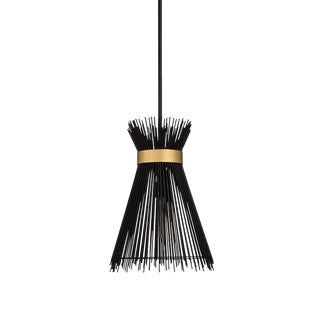 Wildwood Quimby Pendant in Black For Sale