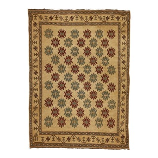 "1980s Soumak Flat Weave Rug - 6'9"" X 9'4"" For Sale"