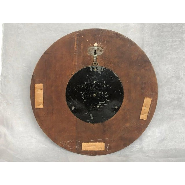 1930s Art Deco Zenith Wall Clock Decor For Sale - Image 9 of 12