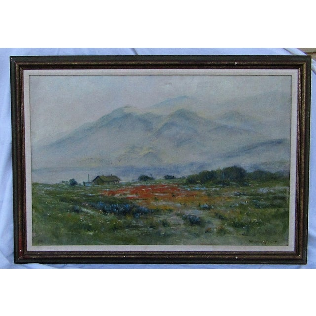 Antique Original Landscape by Maxwell Robertson - Image 2 of 7