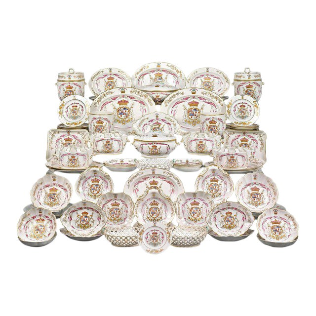 Duke of Hamilton Porcelain Service by Derby and Duesbury For Sale