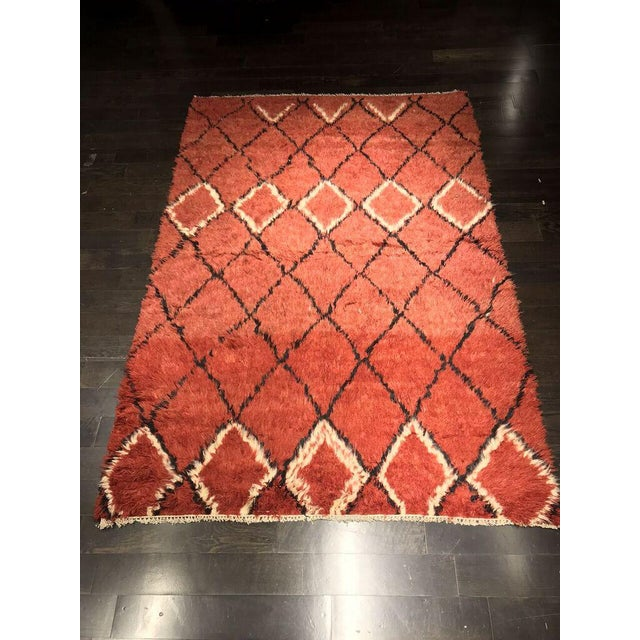 "Bellwether Rugs Vintage Azilal ""Joye"" Rug - 8' X 5'4"" For Sale - Image 5 of 5"
