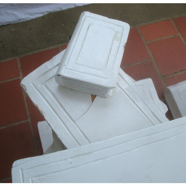 Trompe l'Oeil Stacked Library Book Pedestals for Side Tables, Coffee Table or Bench, a Pair For Sale In Richmond - Image 6 of 7