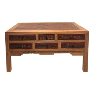 Asian Contemporary Console Table For Sale