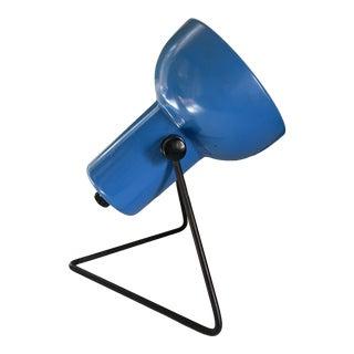 Modern Blue Desk Lamp For Sale