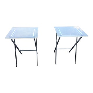 1960s Vintage Charles Hollis Jones Lucite Chairs - a Pair For Sale