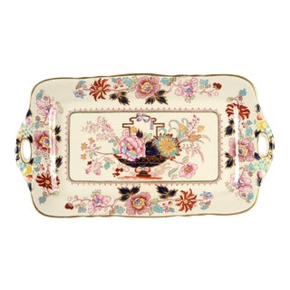Mason's Brocade Large Sandwich Tray For Sale
