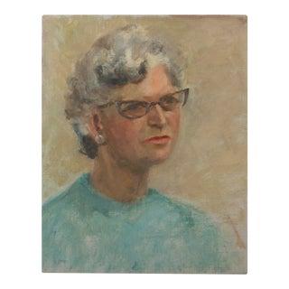 Stranger Art Portrait of a Woman