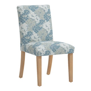 Dining Chair in Loiret Blue For Sale