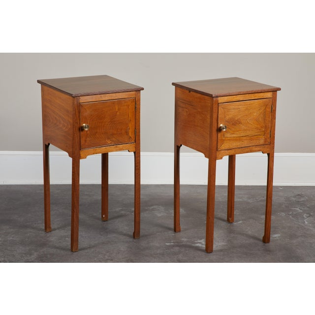 Pair of English George III Walnut Side Tables - Image 9 of 9