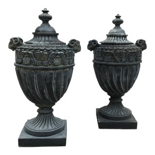 Neoclassical Design Vases - a Pair