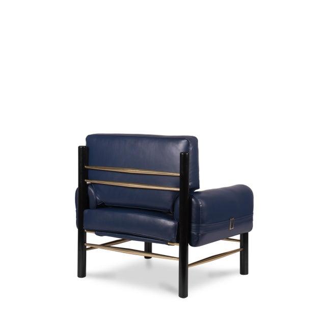 Dean Armchair Armchair From Covet Paris For Sale - Image 4 of 5