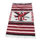 Image of Navajo Style Reversible Wool Rug - 3′11″ × 5′7″ For Sale