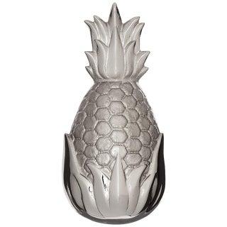 Michael Healy Nickel Silver Pineapple Door Knocker For Sale